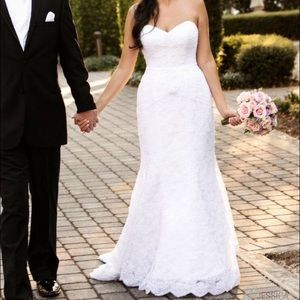 Oleg Cassini wedding dress, size 8